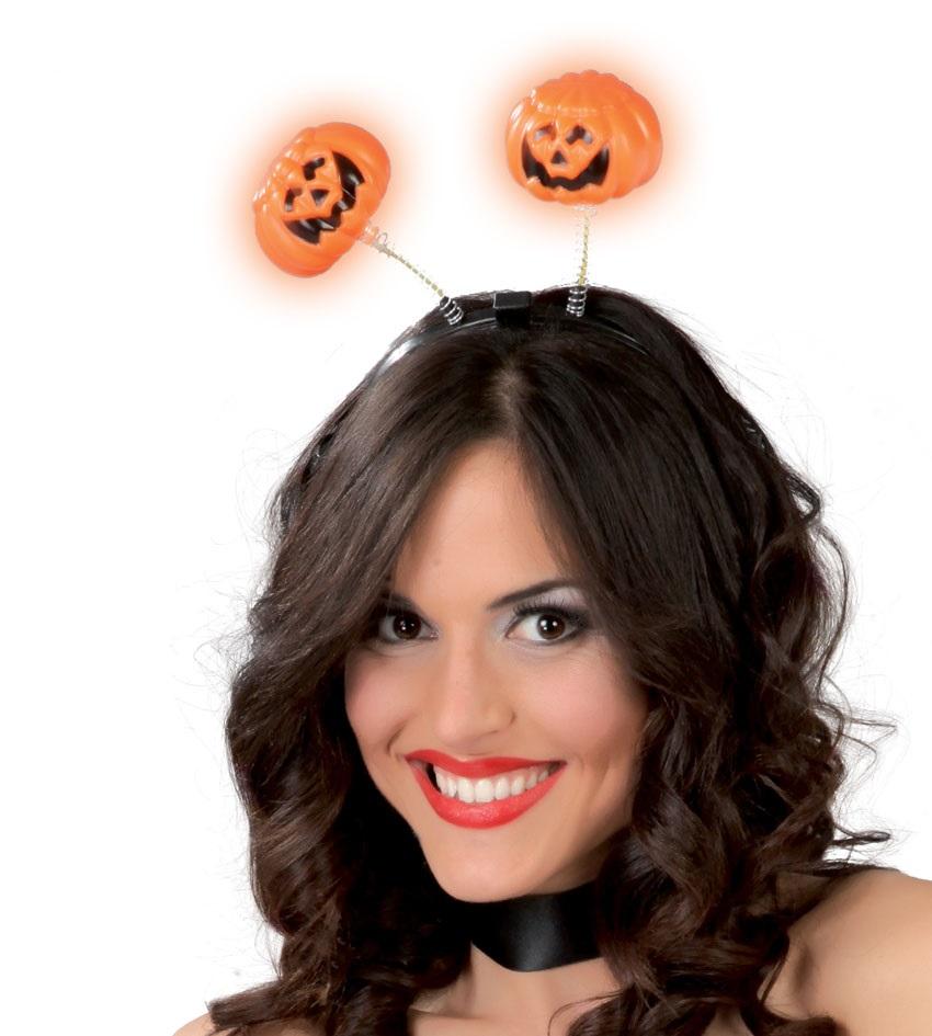 Abiti e maschere di fazzini costumi e accessori carnevale for Zucca halloween luminosa